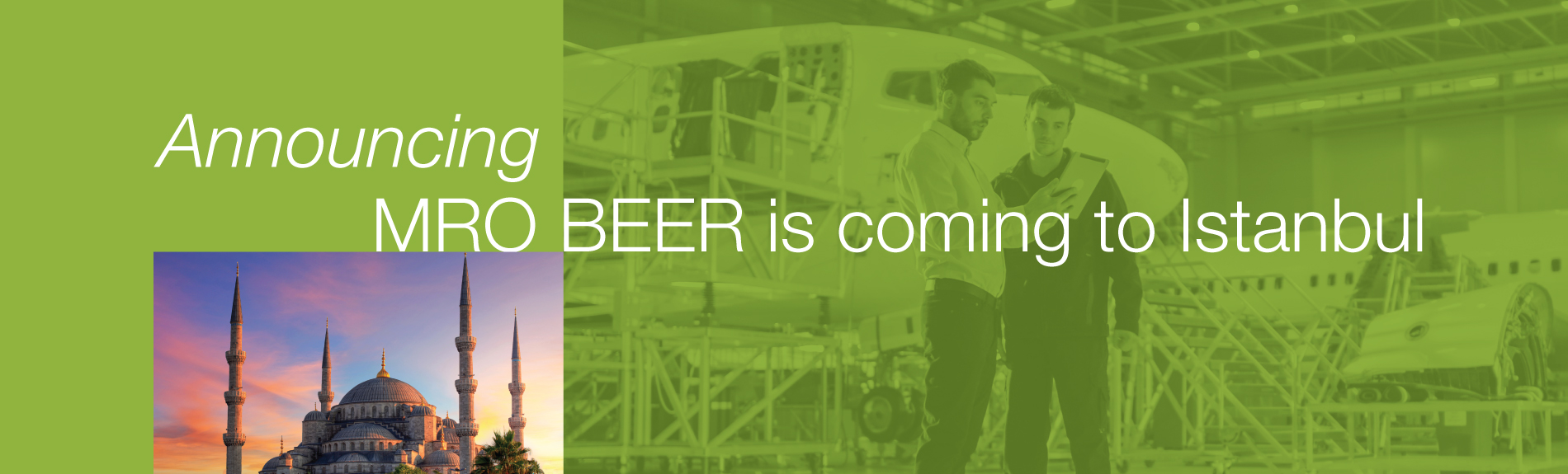 MRO BEER will be held in Istanbul